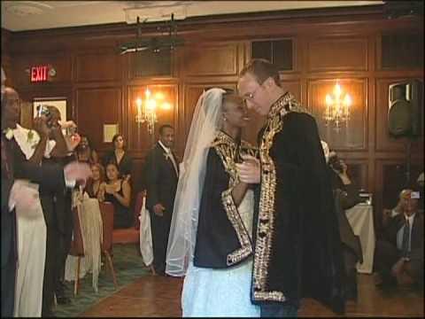 First Dance of Ethiopian & Austrian Wedding at Pratt Mansions Manhattan Wedding Videographer Toronto