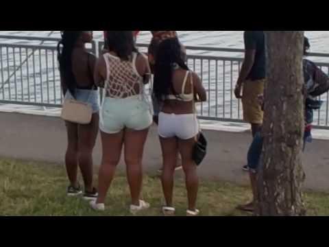 Caribana 2016: Girls, Music, and Crowds... Toronto Caribbean Carnival Saturday July 30 2016