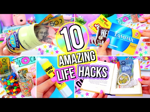 10 LIFE HACKS You've NEVER Seen Before!