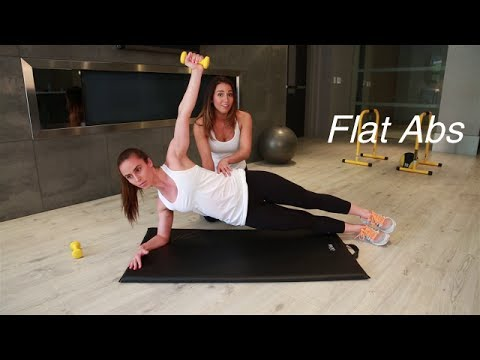 Get Flat Sexy Abs Fast