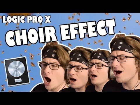 How to Layer Vocals and Harmonize (Easy Choir Effect) - Logic Pro X