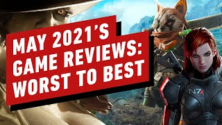 May 2021's Best and Worst Reviewed Games - Reviews in Review