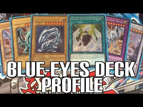 YUGIOH BLUE-EYES WHITE DRAGON DECK PROFILE 2018! - New Legendary Collection Kaiba Cards!