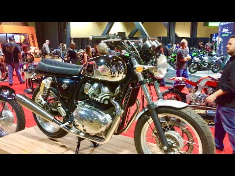New Royal Enfield 650 Twin Motorcycle