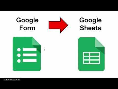Create a Google Form FROM a Google Spreadsheet