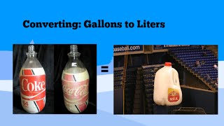 Converting Gallons To Liters And Liters To Gallons