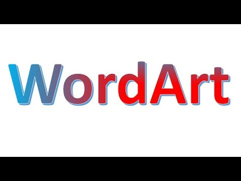 PPT Tutorial- How to Create Word Art in Microsoft PowerPoint Slide 2017