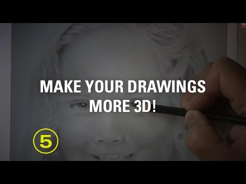 Make Your Drawings More 3D! — A Drawing Critique