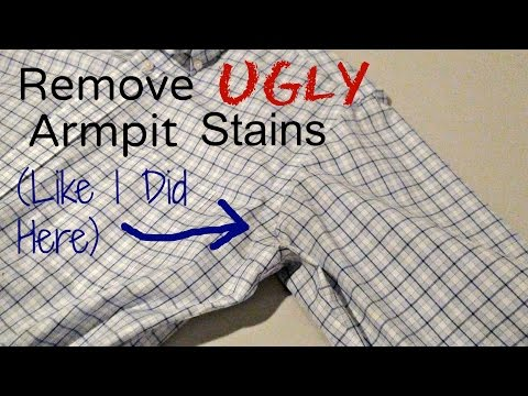 How To Remove Ugly Yellow Armpit Stains (Cheap and Natural!)
