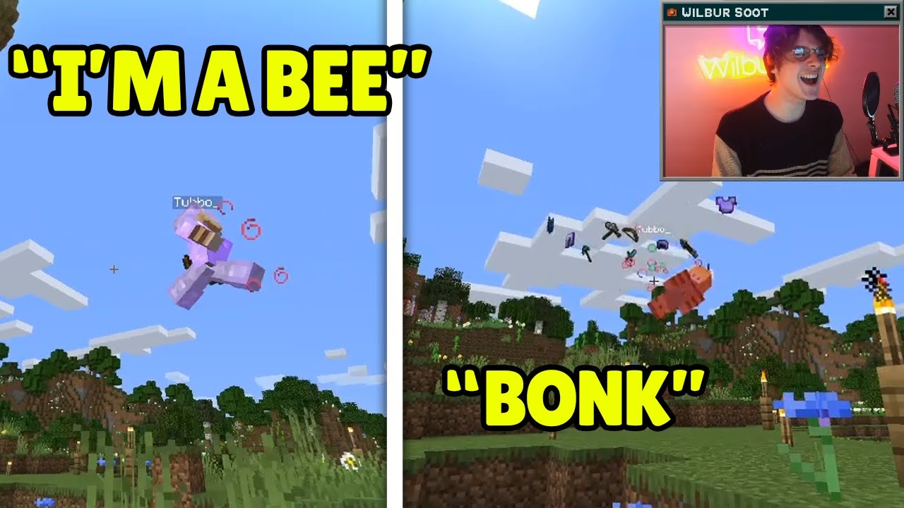 Wilbur Soot Funniest and Cutest Moments on Origin SMP!