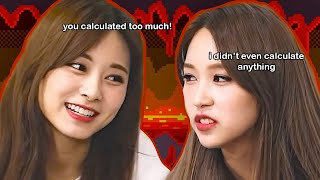 what happens when twice mina gets competitive