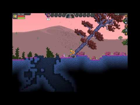 Starbound Beta: How to make a crafting table