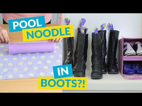 DIY Trick To Keep Your Boots Standing Up