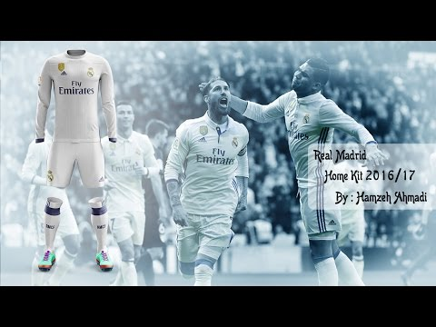 How To Make Football Kit | Real Madrid