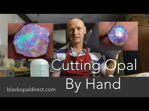 How To Cut And Polish Opal Gemstones By Hand by blackopaldirect.com