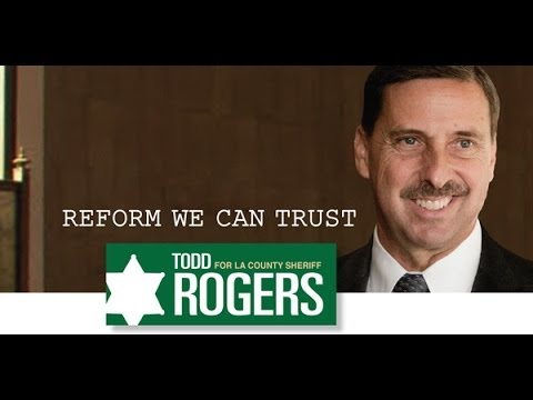 Todd Rogers for LA Sheriff - Community Policing vs Stop & Frisk