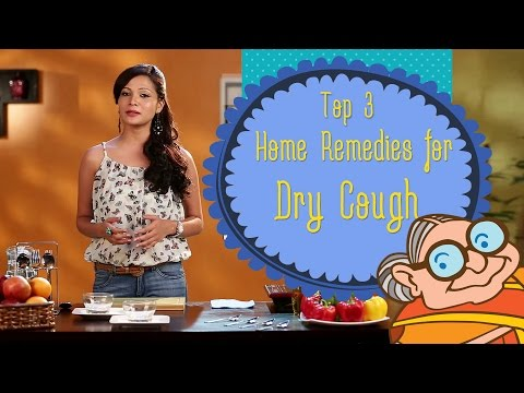 Dry Cough - Natural Ayurvedic Home Remedies for Immediate Relief - Sore Throat & Dry Cough