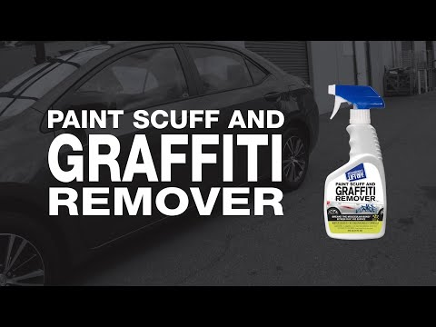 How to Remove Paint Transfer and Graffiti From Vehicles