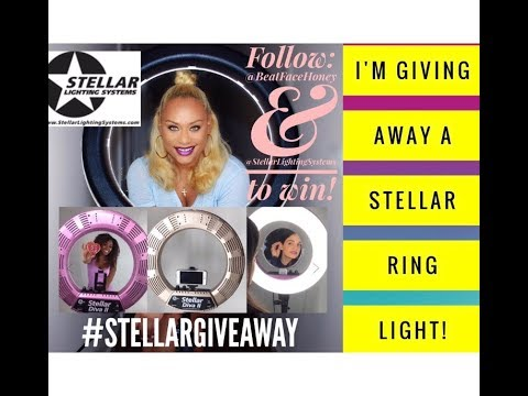 GIVE AWAY!!! 18 inch Stellar Lighting Systems Ring Light! (CLOSED)