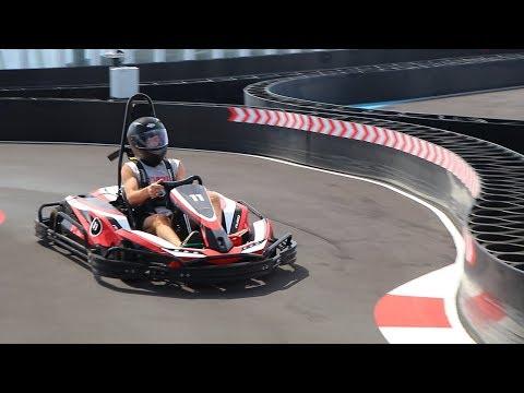 Go-Kart Racetrack On Norwegian Bliss