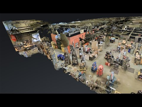 3D Mapping The Exploratorium with Matterport!