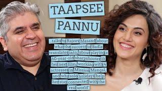 Taapsee Pannu interview with Rajeev Masand I Badla I Saand Ki Aankh I Mission Mangal