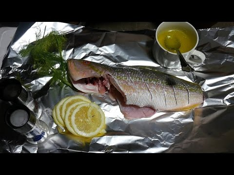 Quick Dinner - Yellowtail Snapper Catch And Cook
