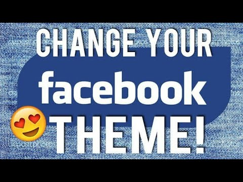 How to change Facebook theme in kannada