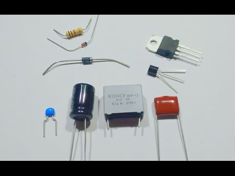 A simple guide to electronic components.