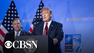 Download Report: Trump discussed pulling out of NATO Video