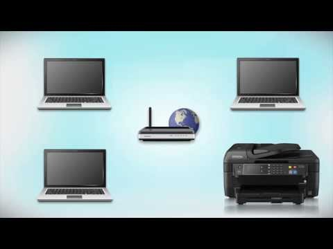 Epson WorkForce WF-2660 | Wireless Setup Using the Printer's Buttons
