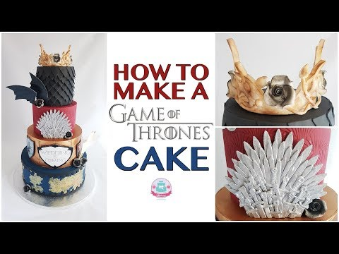 HOW TO MAKE A GAME OF THRONES CAKE | Abbyliciousz The Cake Boutique