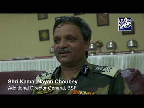 Wagah BSF Supports Rally For Rivers