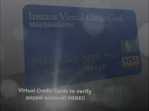 Virtual Credit Card Verify PayPal NOW!! Free VCC (www.BlackMarket.mn)