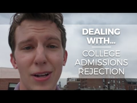 Dealing with College Admissions Rejection