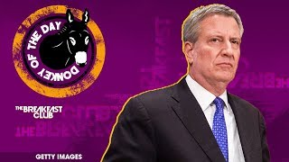 NYC Mayor Bill De Blasio Defends NYPD Officers Who Drove Into Protesters