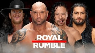 WWE 40 Man Royal Rumble Match 2018 - Entrance Predictions