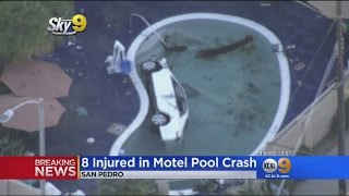 Witnesses Describe Scary Moments When SUV Plunged Into Motel Pool