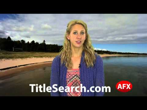 Property title records in Montmorency County Michigan   AFX