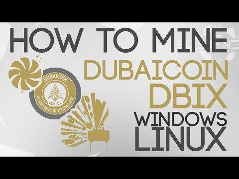 How To Mine DubaiCoin (DBIX) NVidia/AMD ᴜᴘᴅᴀᴛᴇᴅ