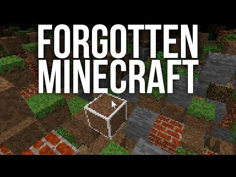 The Hidden, Forgotten Version of Minecraft