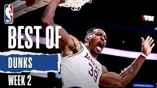 NBA's Best Dunks   Week 2   2019-20 NBA Season