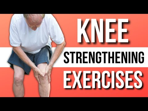 Single Best Knee Strengthening & Stretch Exercises At Home