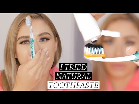 Trying The World's Best Toothpaste? Vegan and Natural!?