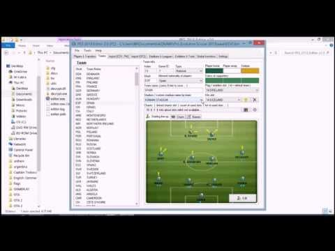 How to add any National Anthem PES 2013 (Part 2 of 3)