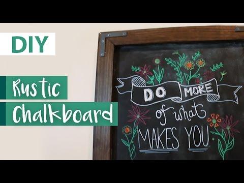 DIY Farmhouse Chalkboard | ArtsyPaints