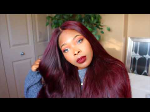 HOW TO DYE HAIR RED WITHOUT BLEACH | PERFECT FALL HAIR COLOUR ft MILAH GOLD HAIR COLLECTION