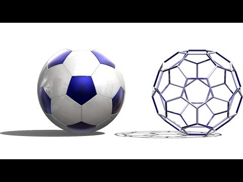 SolidWorks Tutorial # 283: Soccer ball / Truncated icosahedron