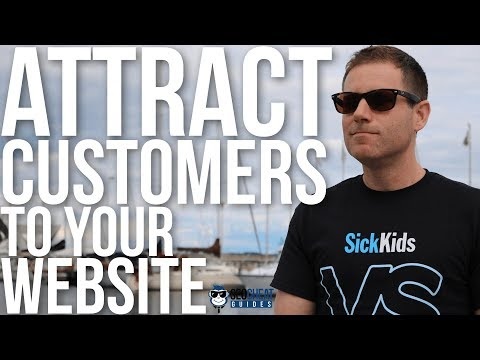 How to Attract Customers to My Website