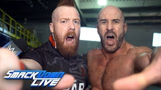 The Bar celebrate a big victory en route to WWE Super Show-Down: SmackDown Exclusive, Sept. 18, 2018
